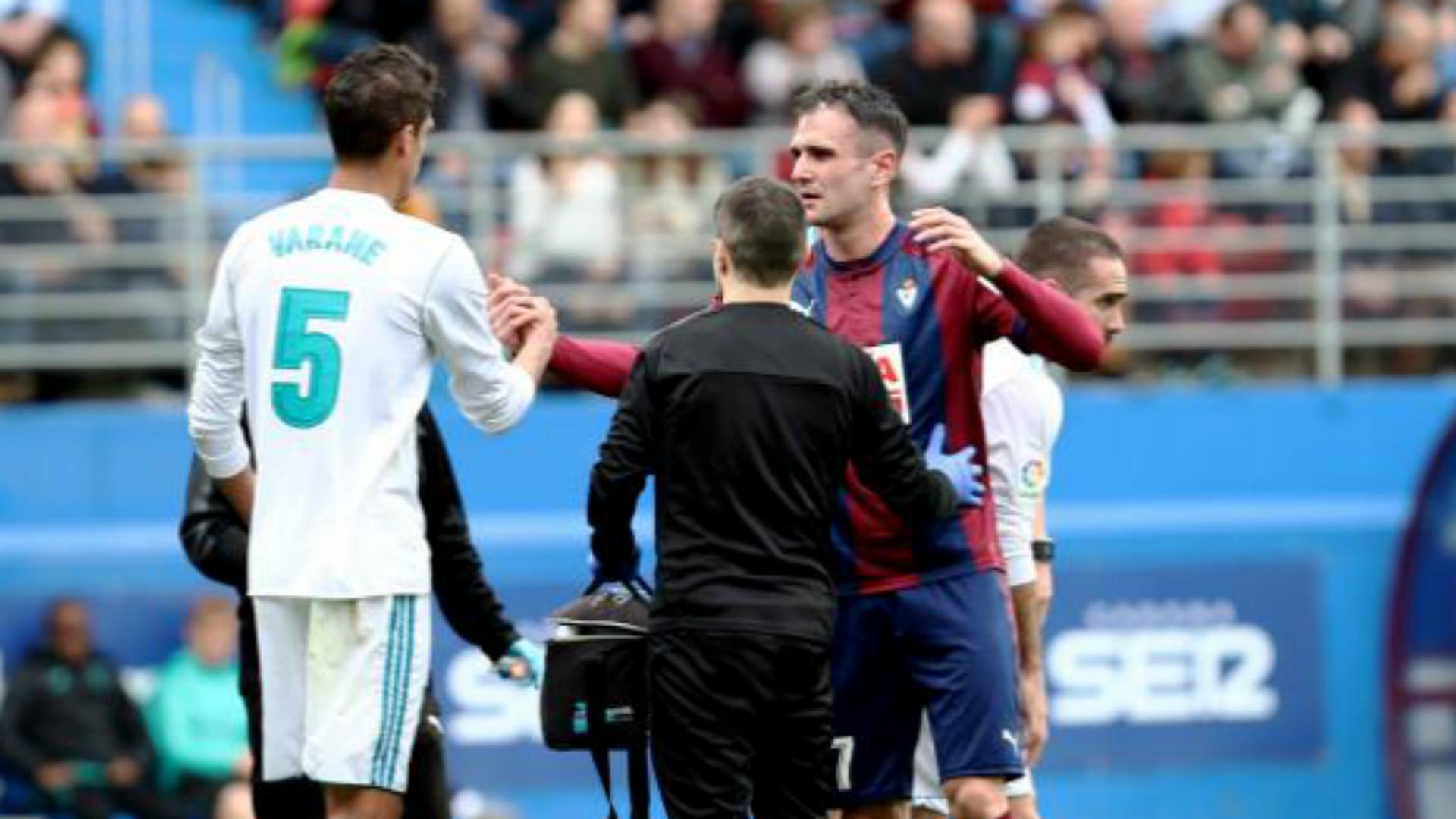 Raphael Varane Eibar Real Madrid LaLiga
