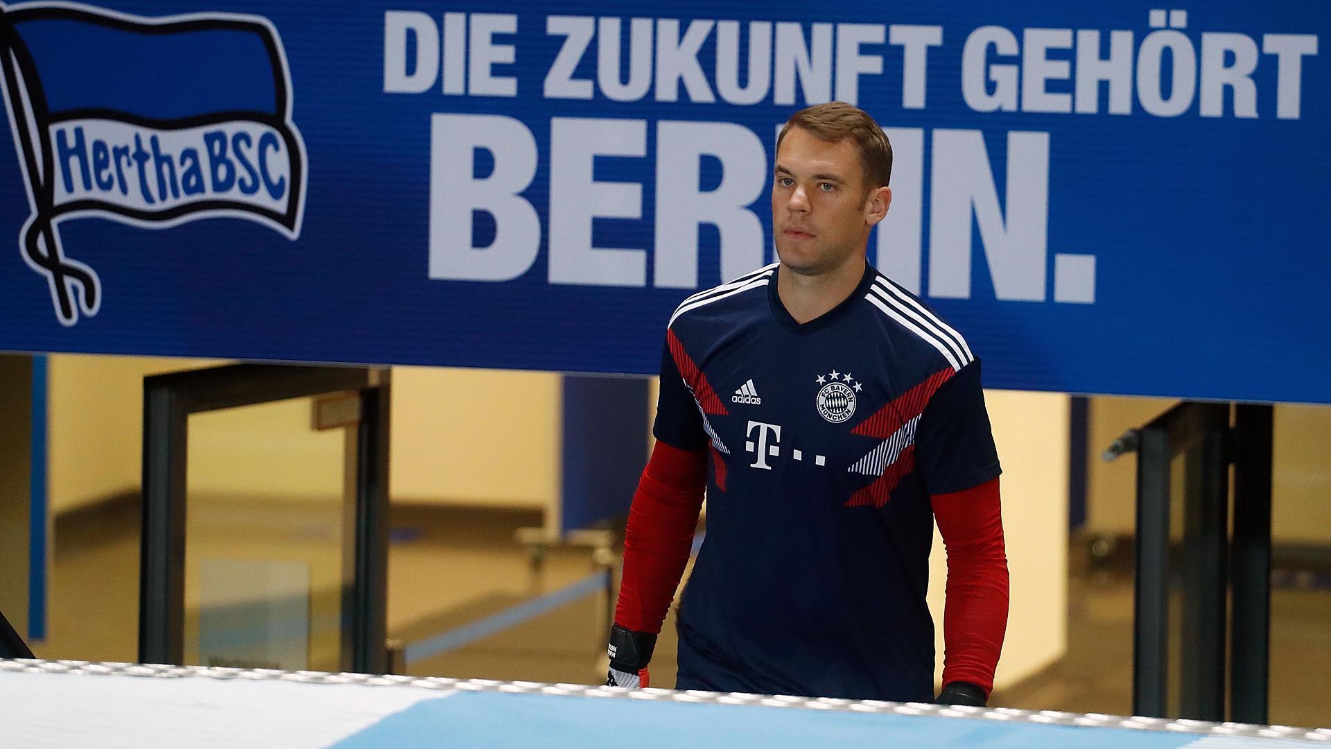 Manuel Neuer FC Bayern Hertha