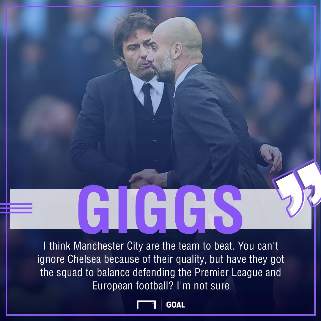 Ryan Giggs Manchester City Chelsea Premier League title