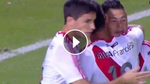 VIDEO PLAY Gol Nacho Fernandez River Atlas Copa Argentina 15082017