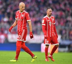 Arjen Robben & Franck Ribery