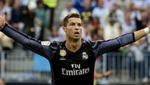 Cristiano Ronaldo Real Madrid Malaga La Liga