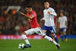 Jesse Lingard Manchester United Basel Champions League