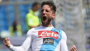 Dries Mertens Sassuolo Napoli Serie A