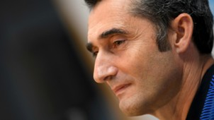 Ernesto Valverde Barcelona press conference