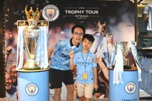 Man city trophy tour Hong Kong
