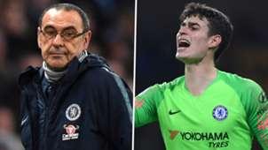 Maurizio Sarri Kepa Chelsea