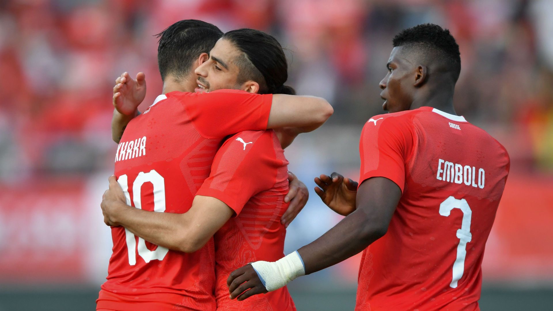 Switzerland contains, draws Brazil 1-1 at World Cup