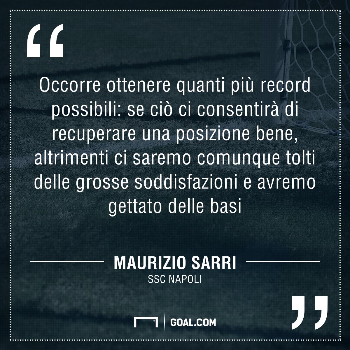PS Sarri Napoli-Fiorentina