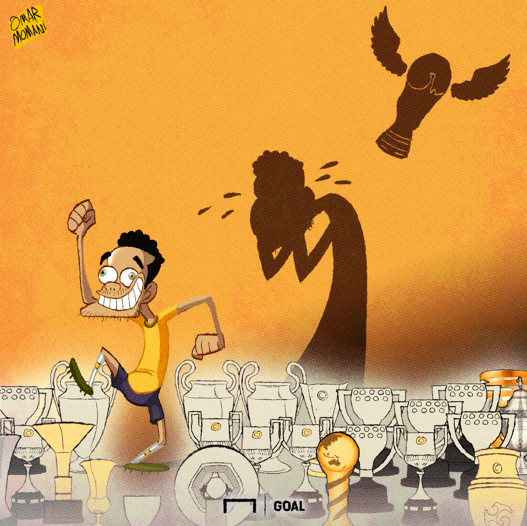 Dani Alves Cartoon