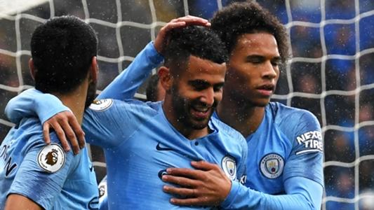 Riyad Mahrez 'happy' with first Manchester City goals
