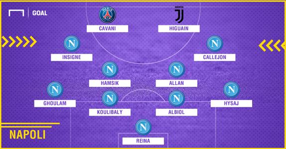 Napoli 2010-2018 composition