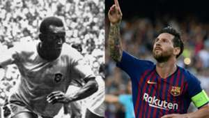 Pele vs Messi