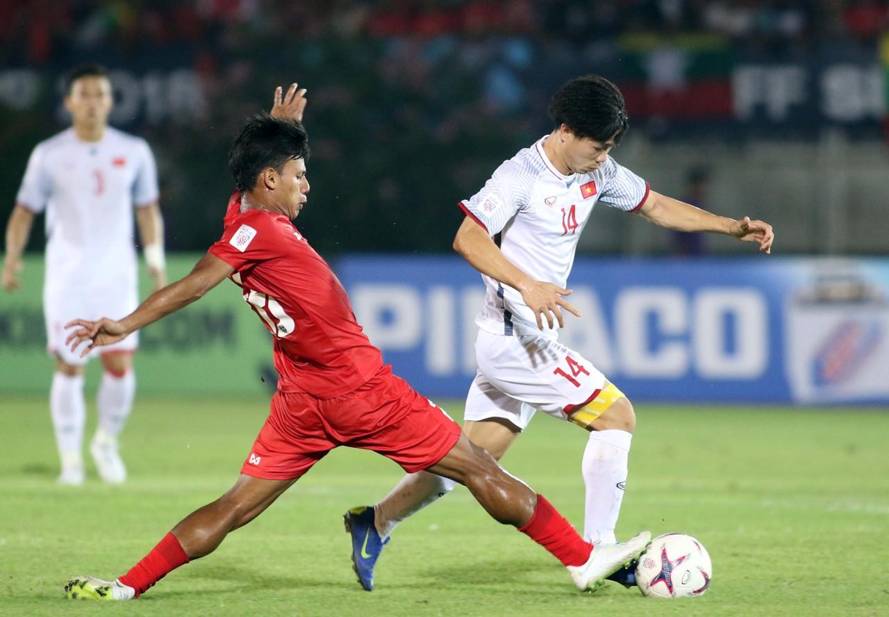 Công Phượng 3 - Myanmar vs Vietnam AFF Suzuki Cup 2018