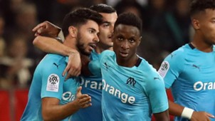 Marseille celebrate 2018-19