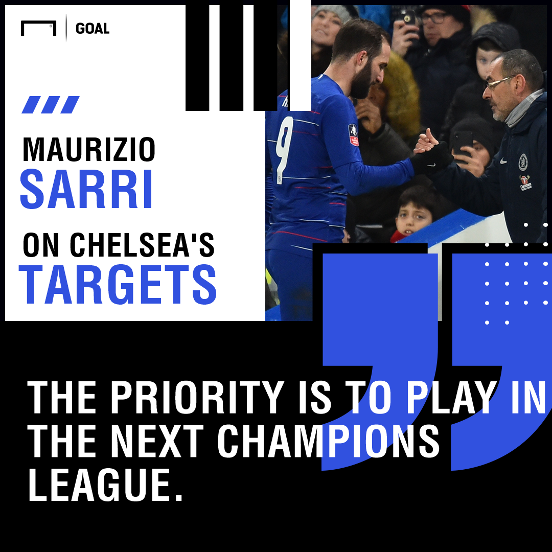 Chelsea quote GFX from Sarri