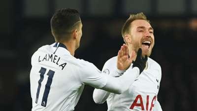 Erik Lamela Christian Eriksen Tottenham 2018-19