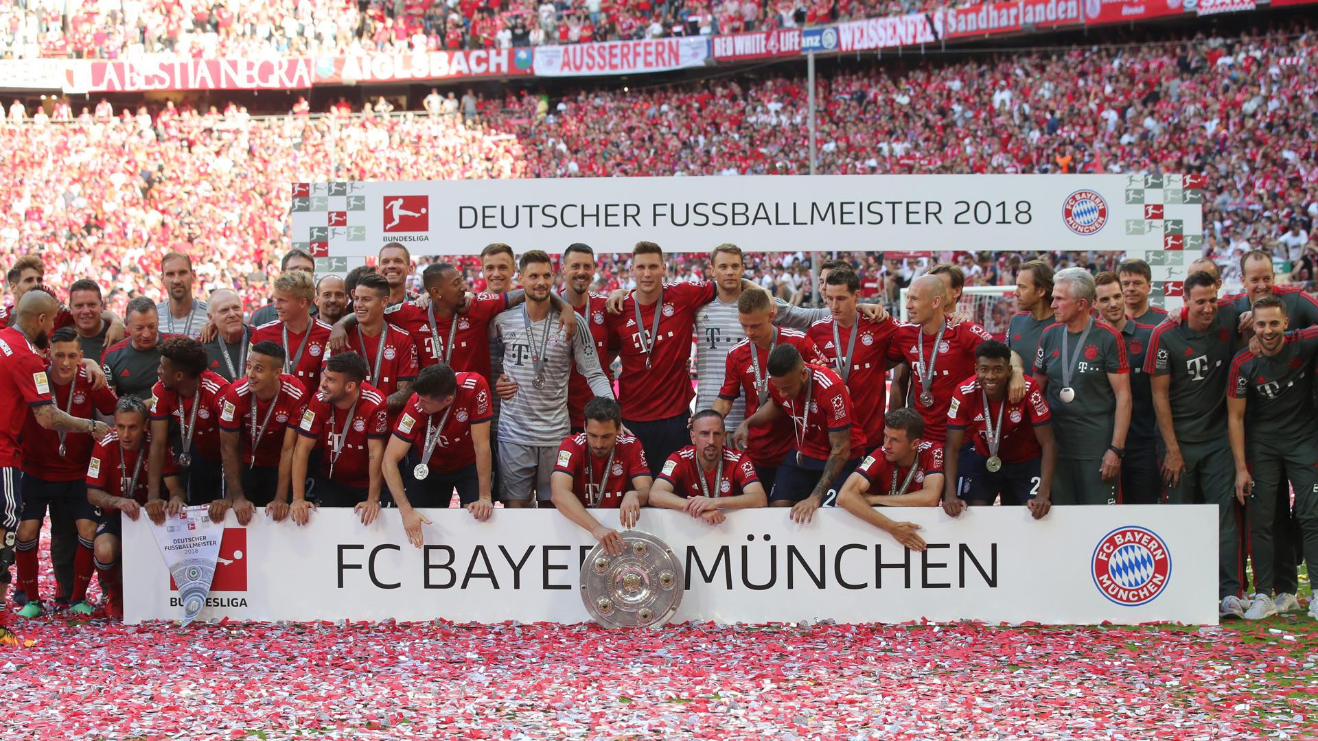 Bayern Team Meister 12052018