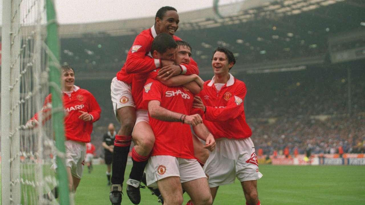 Manchester United Chelsea FA Cup 1994 Eric Cantona