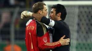 Buffon Neuer Italy Germany