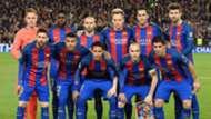 Barcelona squad, Champions League 2017
