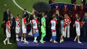 Croatia silver medal world cup final 15072018