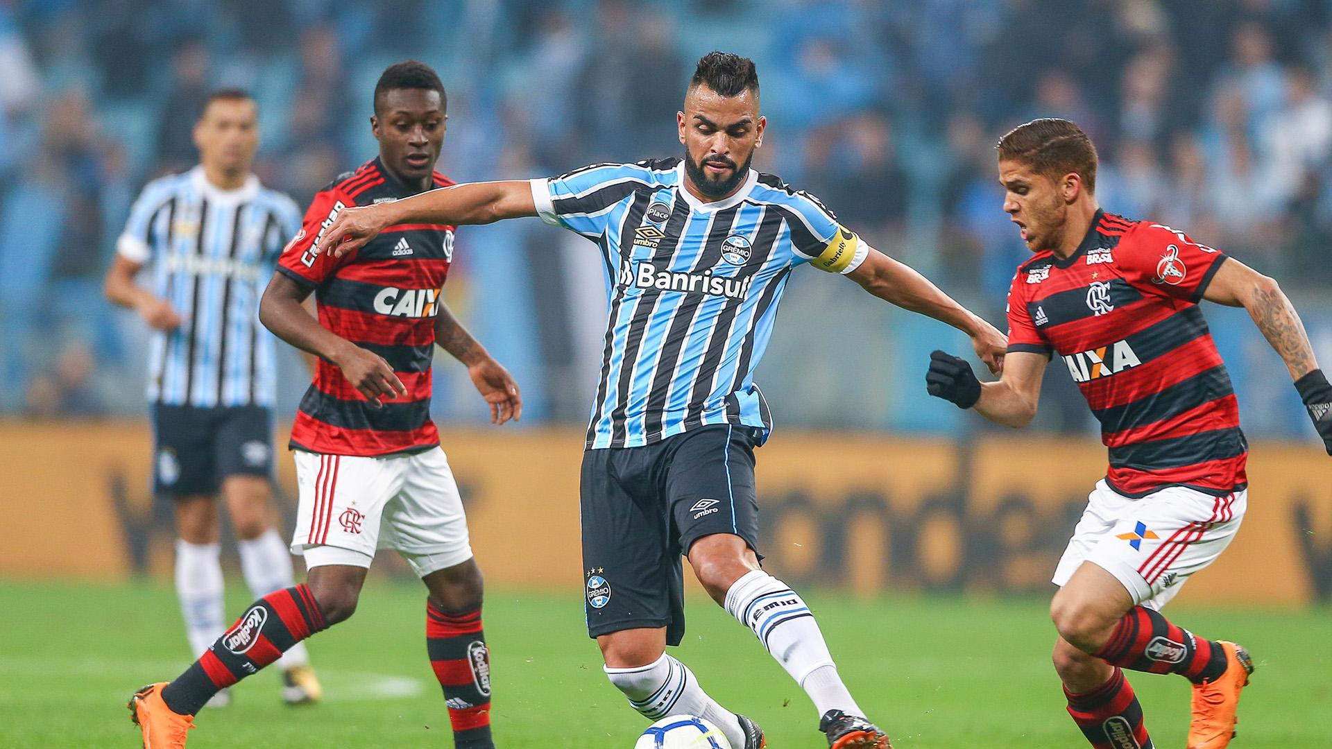 Maicon Cuellar Gremio Flamengo Copa do Brasil 01082018