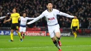 Heung-Min Son Tottenham Hotspur Champions League 13022019