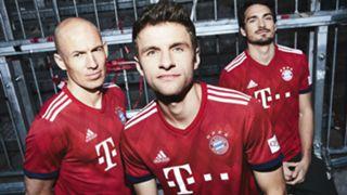 Bayern Munich home kit 2018-19
