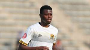 Phathutshedzo Nange of Black Leopards, September 2018