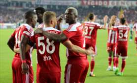 Arouna Kone Sivasspor goal celebration