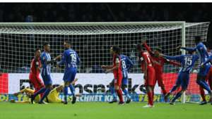 Hertha Berlin Eintracht Frankfurt Grujic celebrates 081218