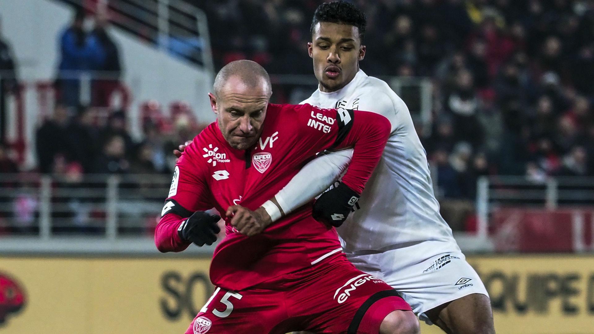 Florent Balmont Yoel Armougoum Dijon Caen Ligue 1 24022018