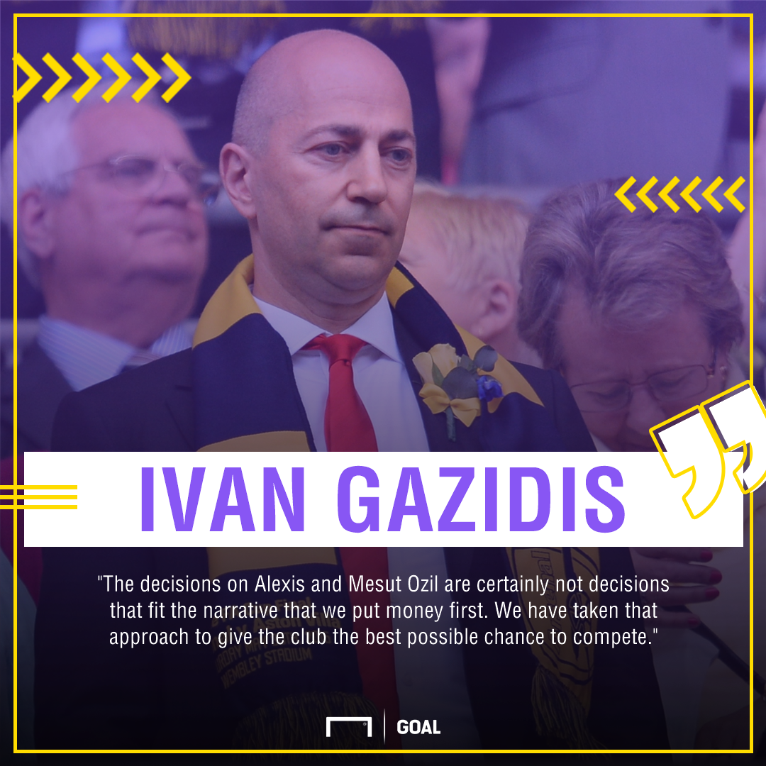 Ivan Gazidis Arsenal PS