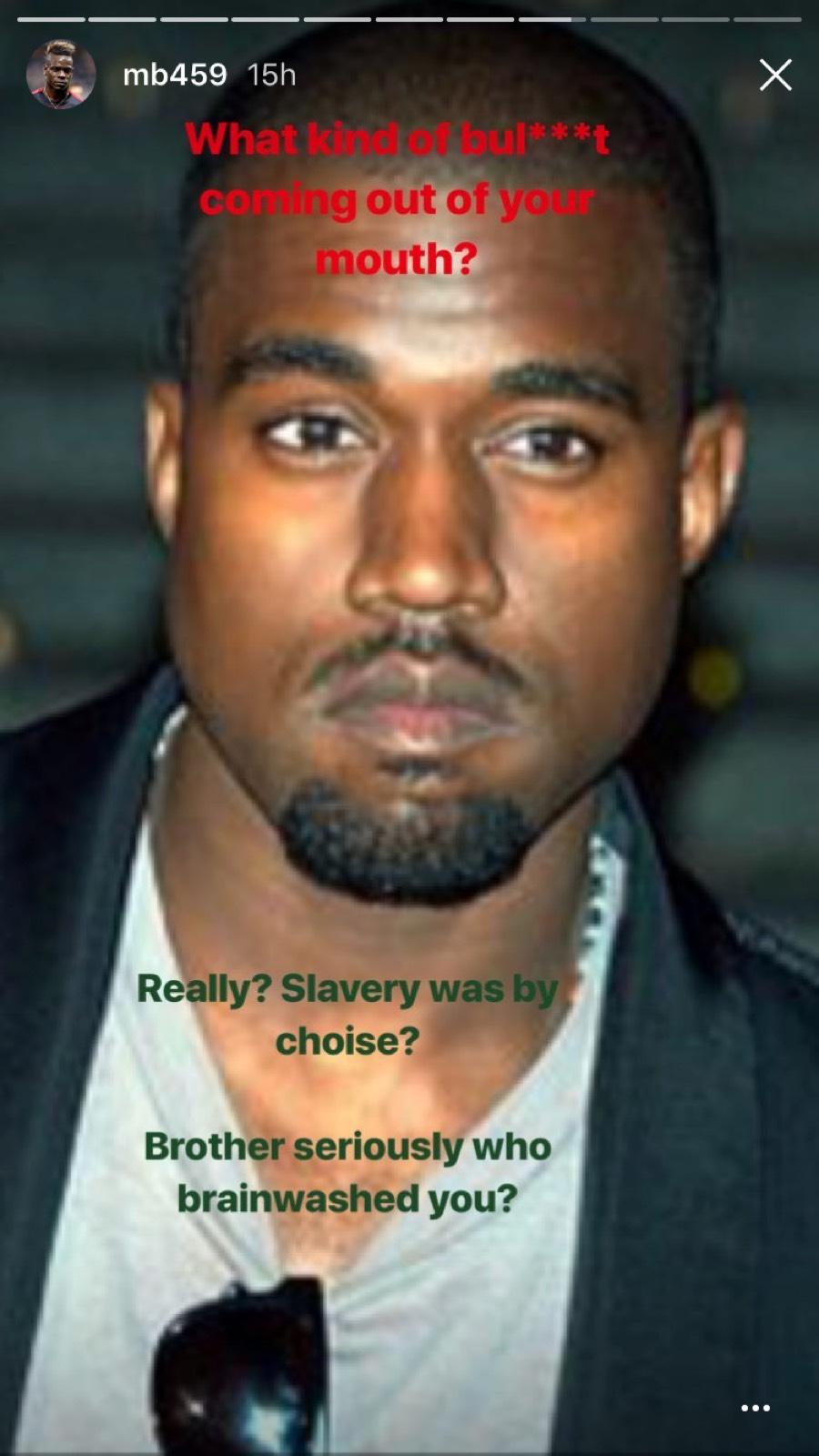 Balotelli Kanye