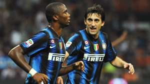 Samuel Eto'o Diego Milito Inter