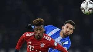 FC Bayern Kingsley Coman Hertha