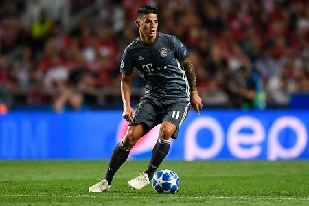 James Rodriguez Bayern