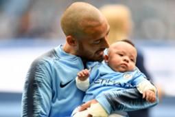 David Silva & His son
