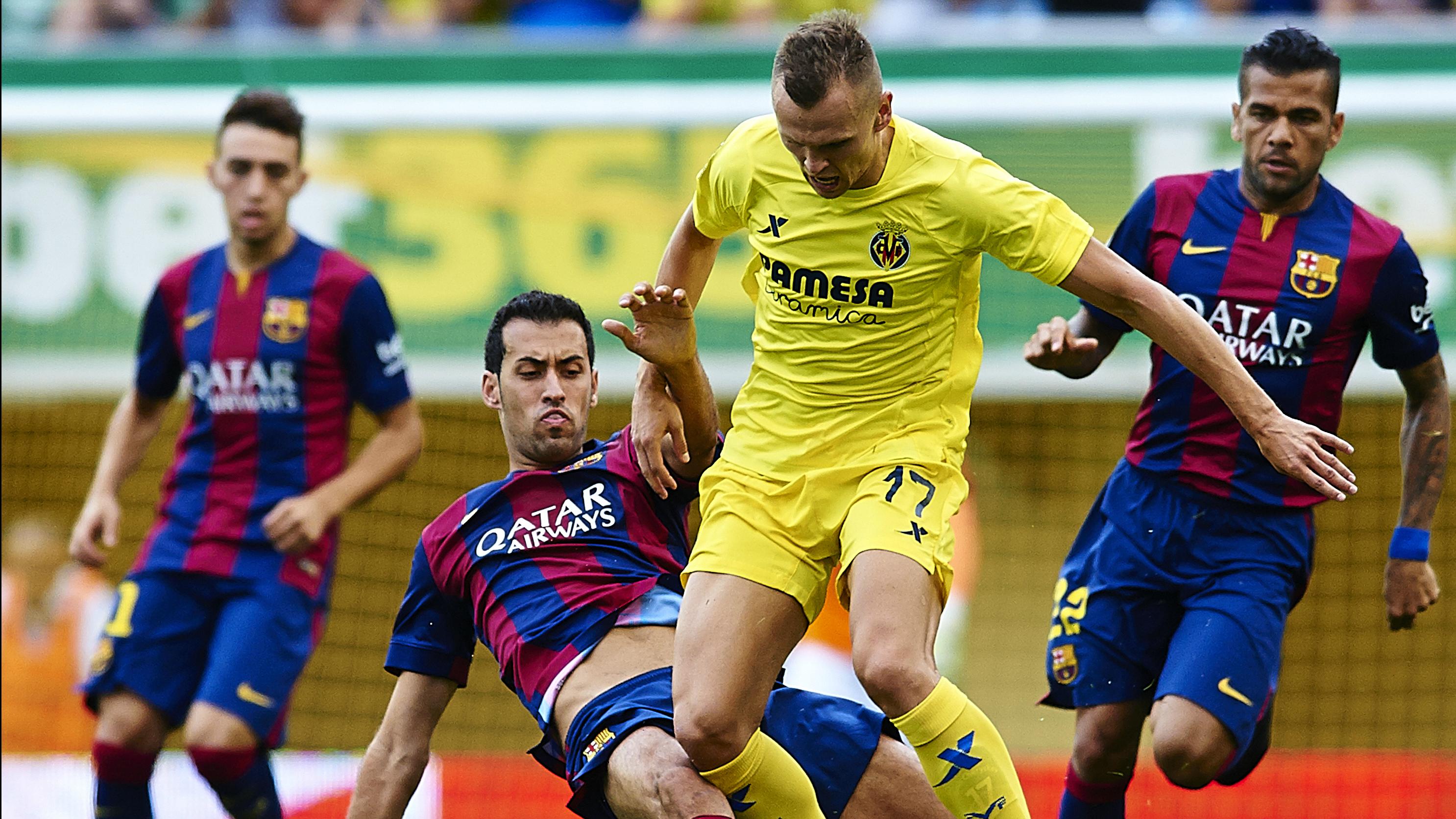 Villarreal Barcelona Denis Cheryshev