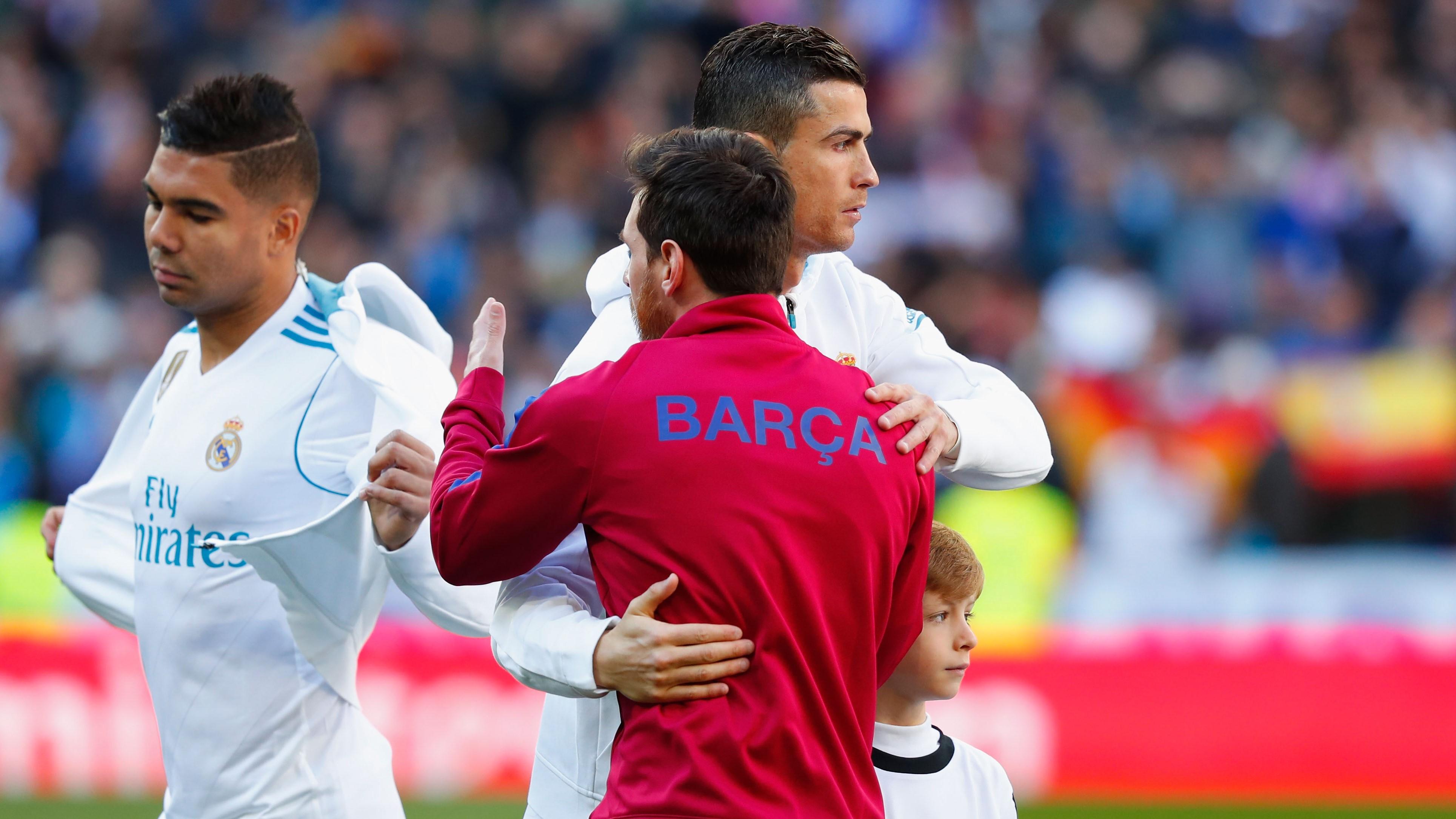Cristiano Ronaldo Lionel Messi Real Madrid Barcelona El Clásico LaLiga 23122017