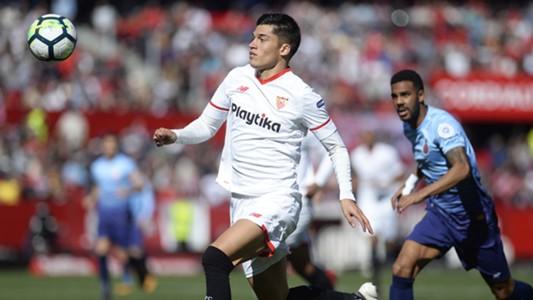 FC Sevilla Joaquin Correa 11022018