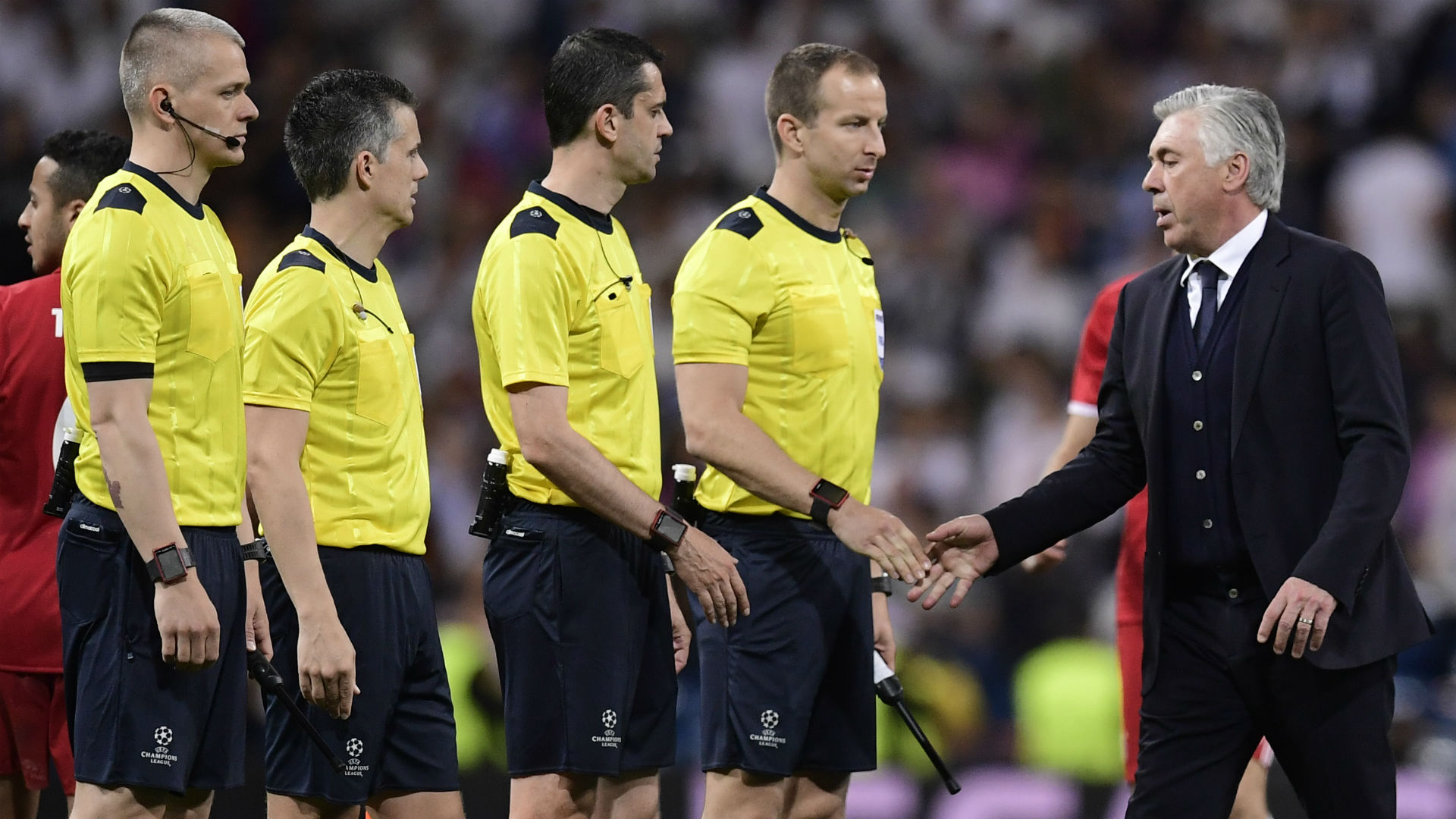 Ancelotti Real madrid Bayern Champions League 18 04 2017