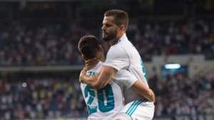 Marco Asensio Nacho Real Madrid LaLiga 27082017