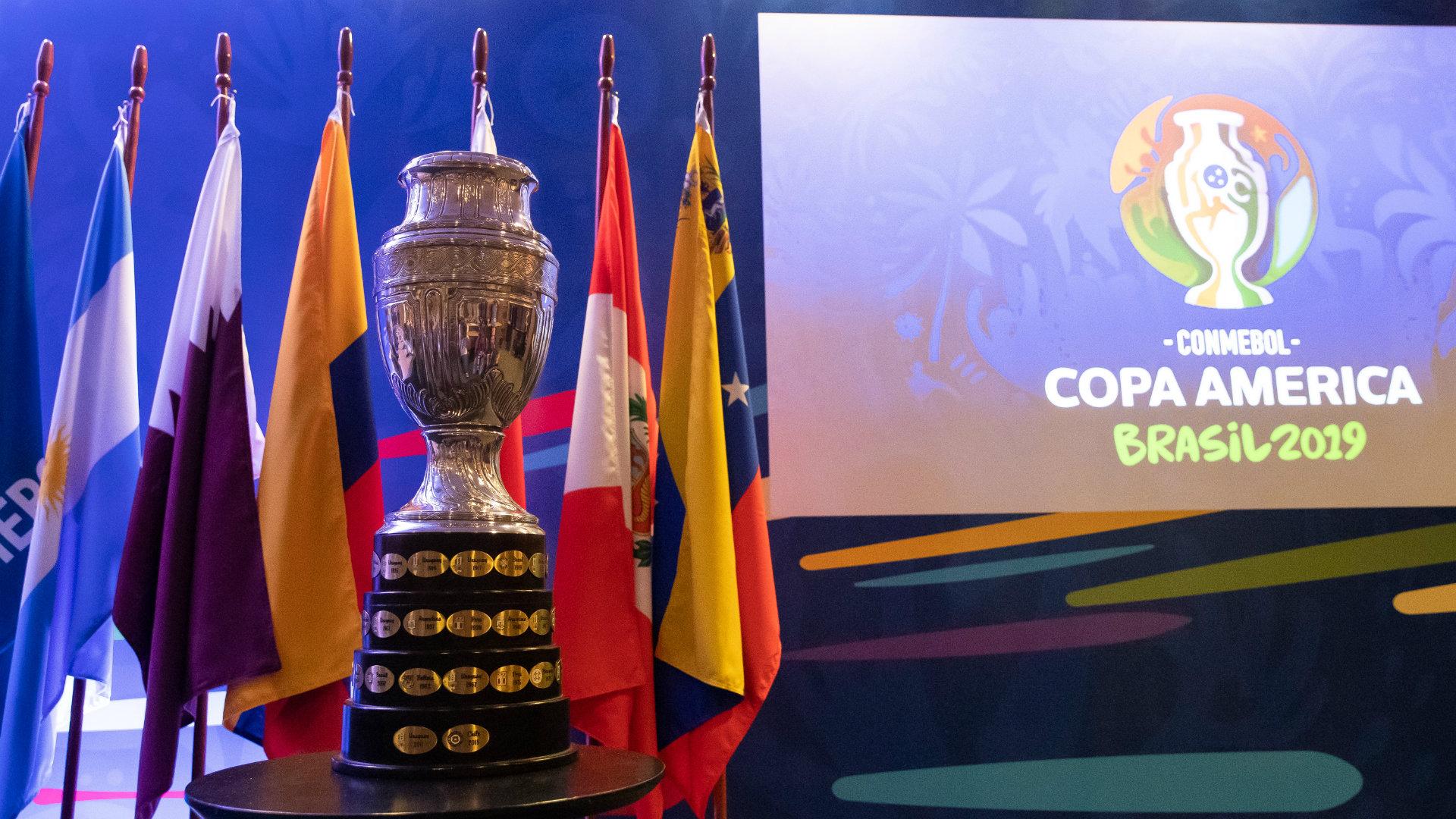 Copa América trofeo 240119