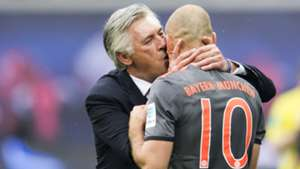 Arjen Robben Carlo Ancelotti RB Leipzig FC Bayern