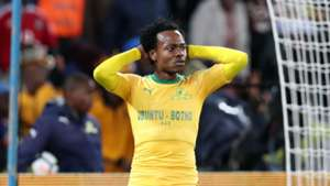 Percy Tau of Mamelodi Sundowns v Barcelona - May 16 2018