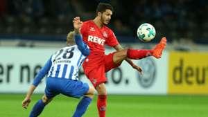 Leonardo Bittencourt FC Köln Hertha BSC DFB Pokal 25102017
