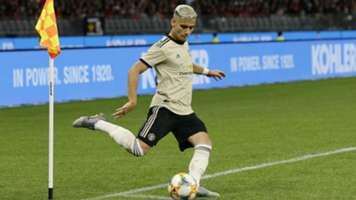 Andreas Pereira Manchester United pre-season 2019