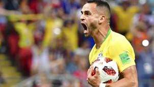 Renato Augusto Brasil x Bélgica Copa do Mundo 06 07 18